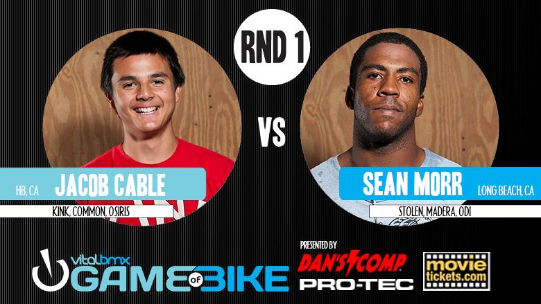 Jacob Cable vs. Sean Morr