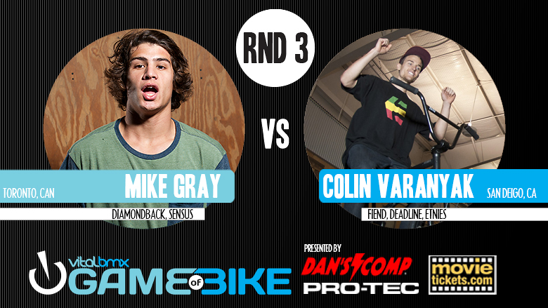 Colin Varanyak vs. Mike Gray