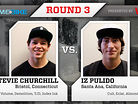2011 Vital BMX Game of BIKE: Stevie Churchill vs Iz Pulido, Round 3
