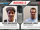 2011 Vital BMX Game of BIKE: Kyle Baldock vs Morgan Long, Round 3